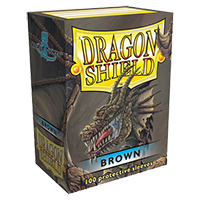 Dragon Shield Brown Classic 100 sleeves Standard Size - OutpostGaming - Stay Safe