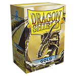 Dragon Shield Gold Classic 100 sleeves Standard Size - OutpostGaming - Stay Safe