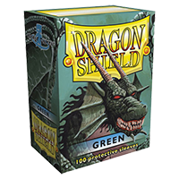 Dragon Shield Green Classic 100 sleeves Standard Size - OutpostGaming - Stay Safe
