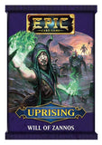 Epic Card Game: Uprising - Will of Zannos booster EN