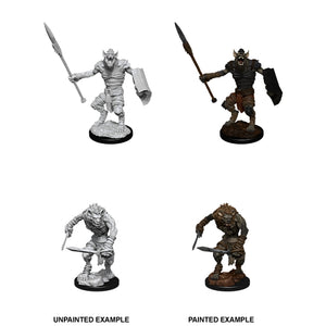 D&D Nolzur's Marvelous Miniatures: Gnoll & Gnoll Flesh Gnawer