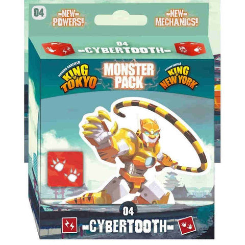 King of Tokyo & King of New York Monster Pack: Cyber tooth EN