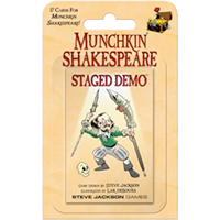 Munchkin Shakespeare: Staged Demo EN
