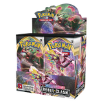 Pokemon Sword & Shield—Rebel Clash Booster Display EN - OutpostGaming - Stay Safe
