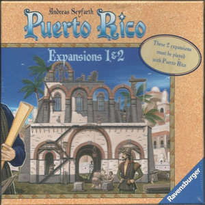 Puerto Rico: Expansions 1&2 – The New Buildings & The Nobles EN