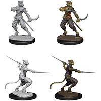 D&D Nolzur's Marvelous Miniatures: Tabaxi Male Rogue