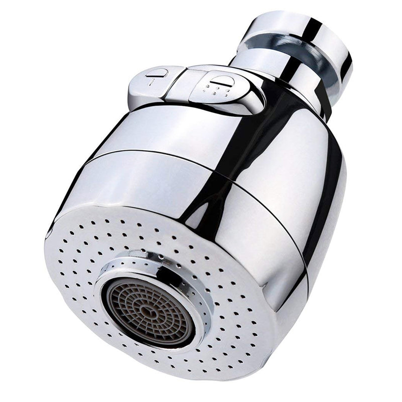 Kitchen Water Saving Aerator Tap Rotatable Faucet Nozzle Filter Adapter Bubbler