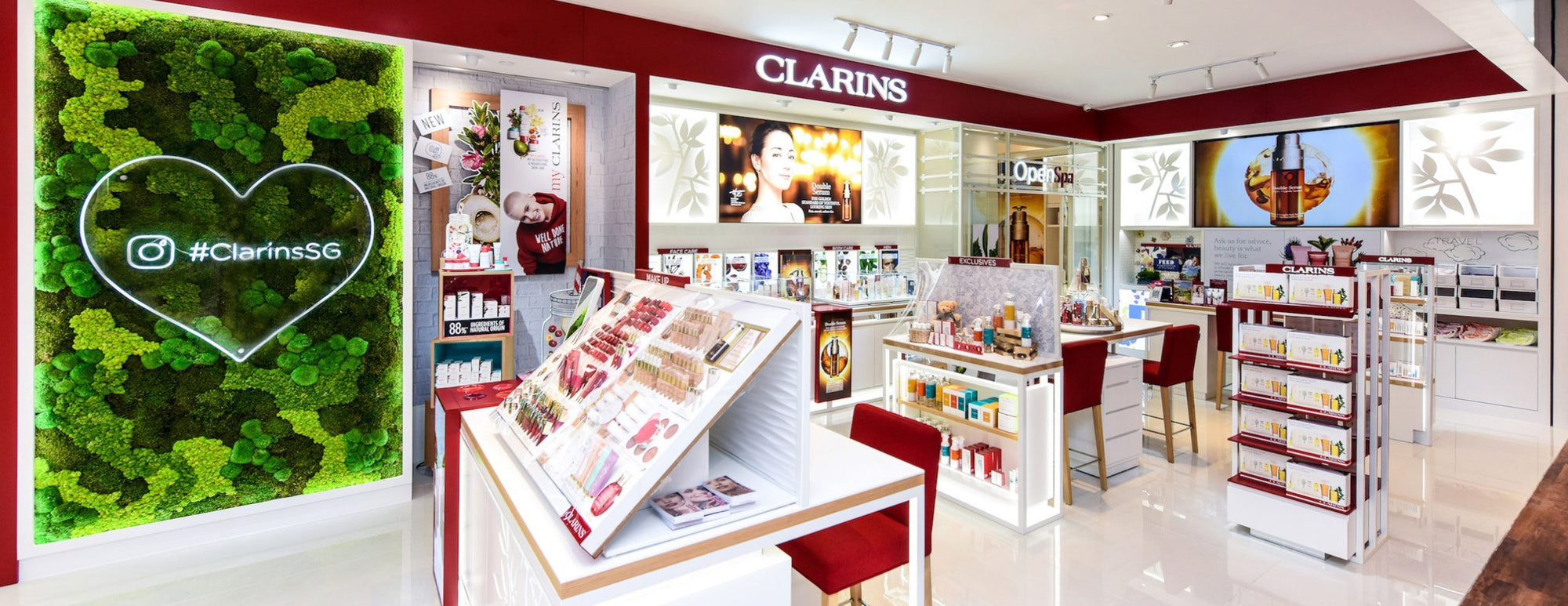 Experience Clarins' Open Spa Services And More At The BHG Beauty Hall