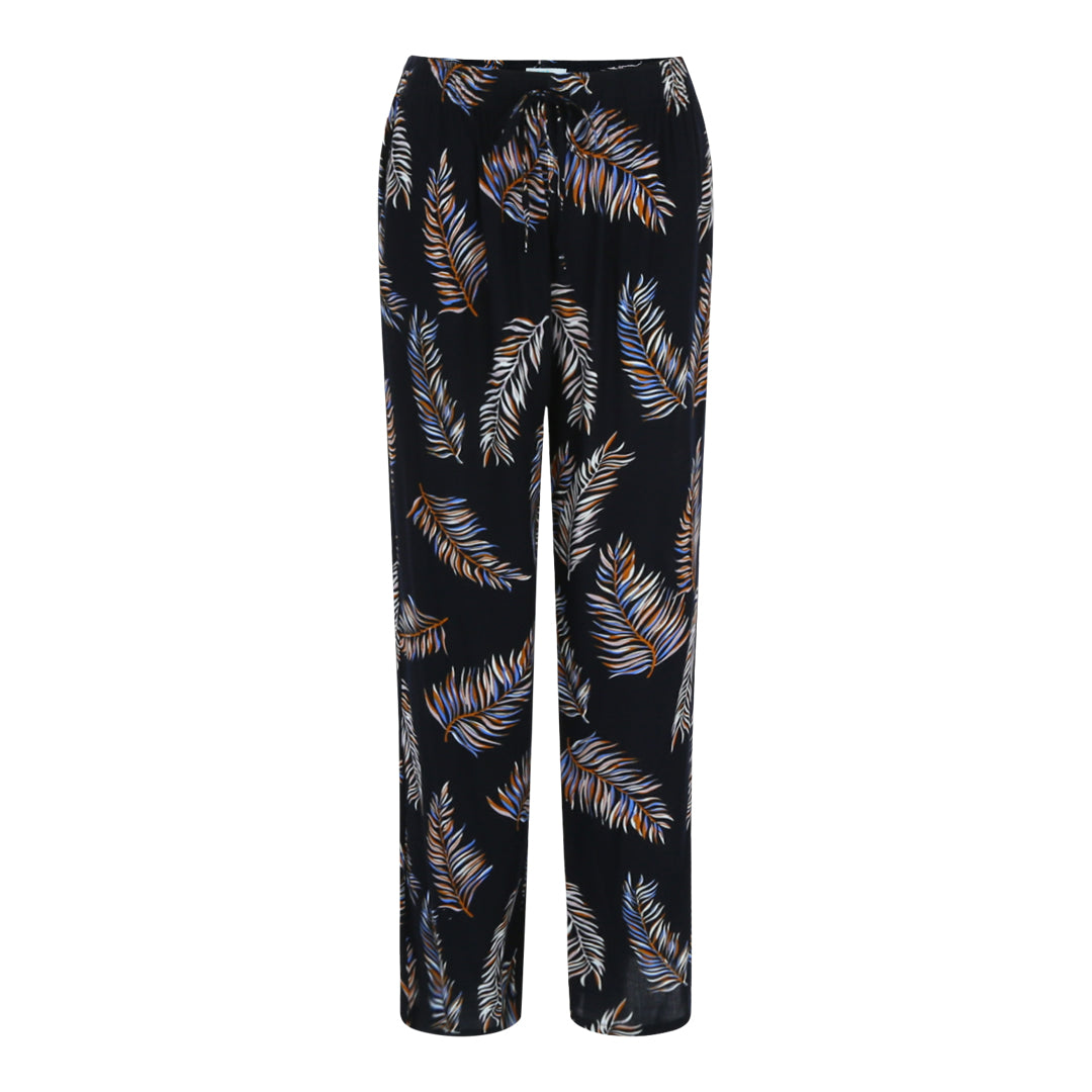 Printed Trousers (Fern / Blue)