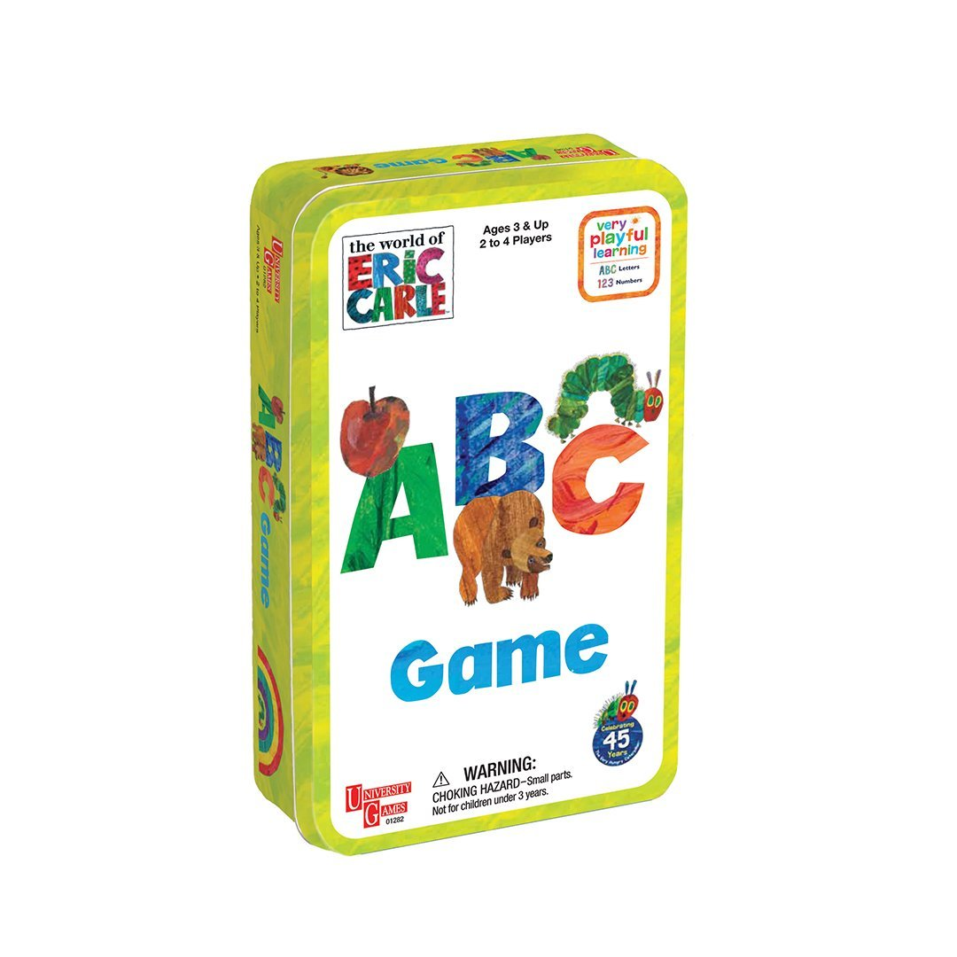 The World of Eric Carl™ ABC Tin Game
