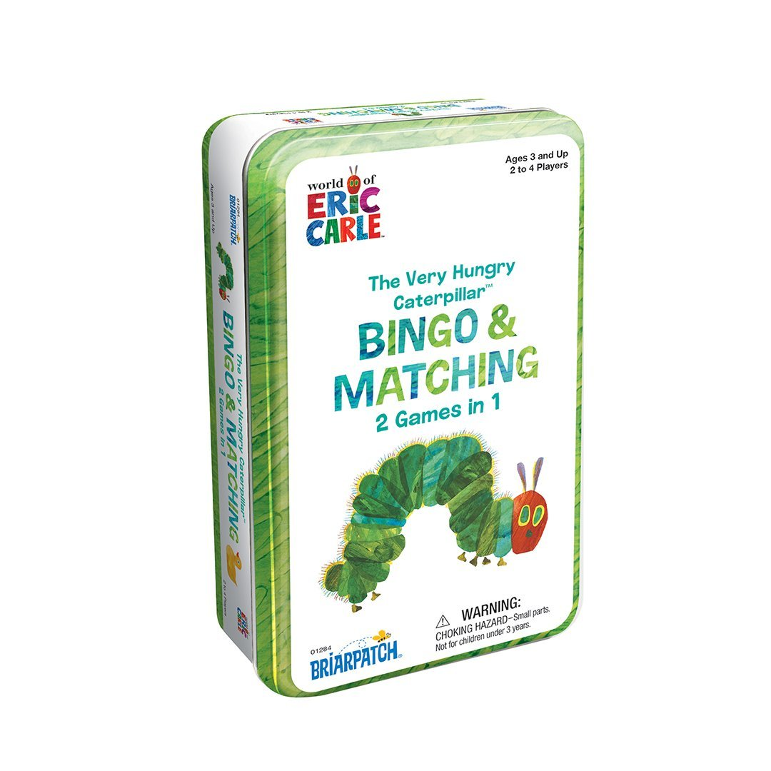 The Very Hungry Caterpillar and Friends Bingo Matching Tin Game