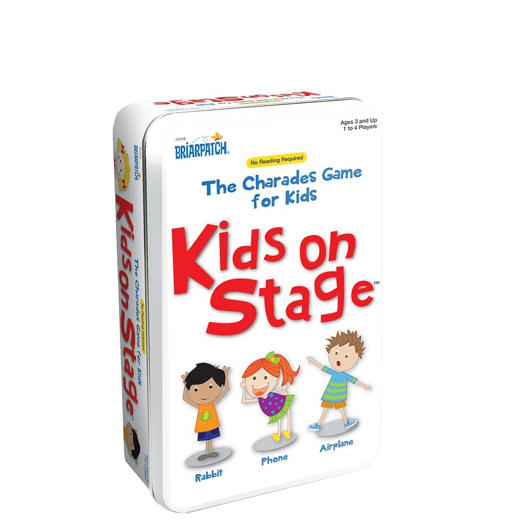 Charades Kids on Stage Tin Game