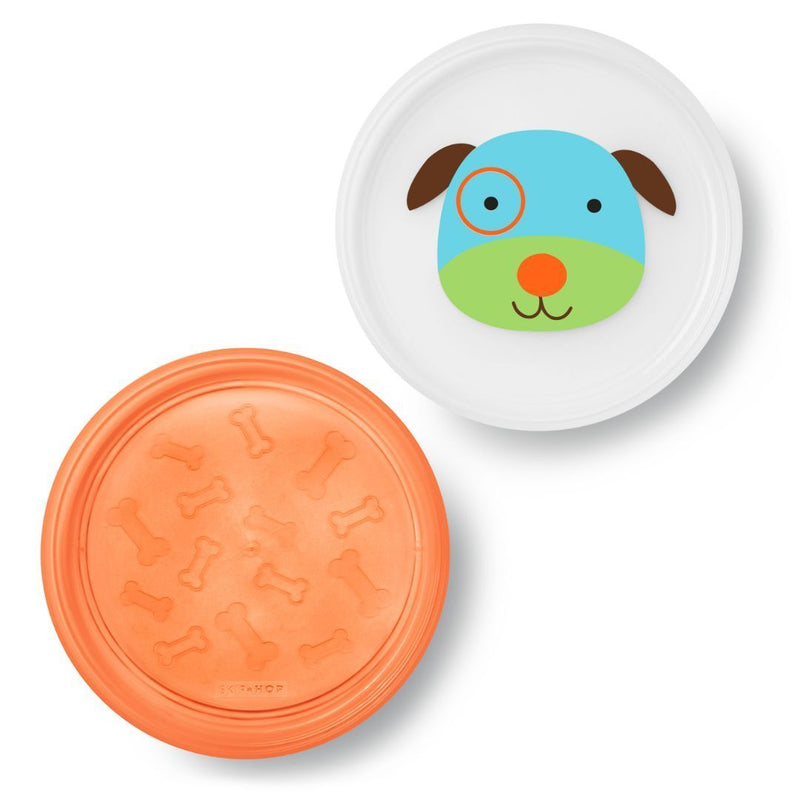 2pc Plate - Dog