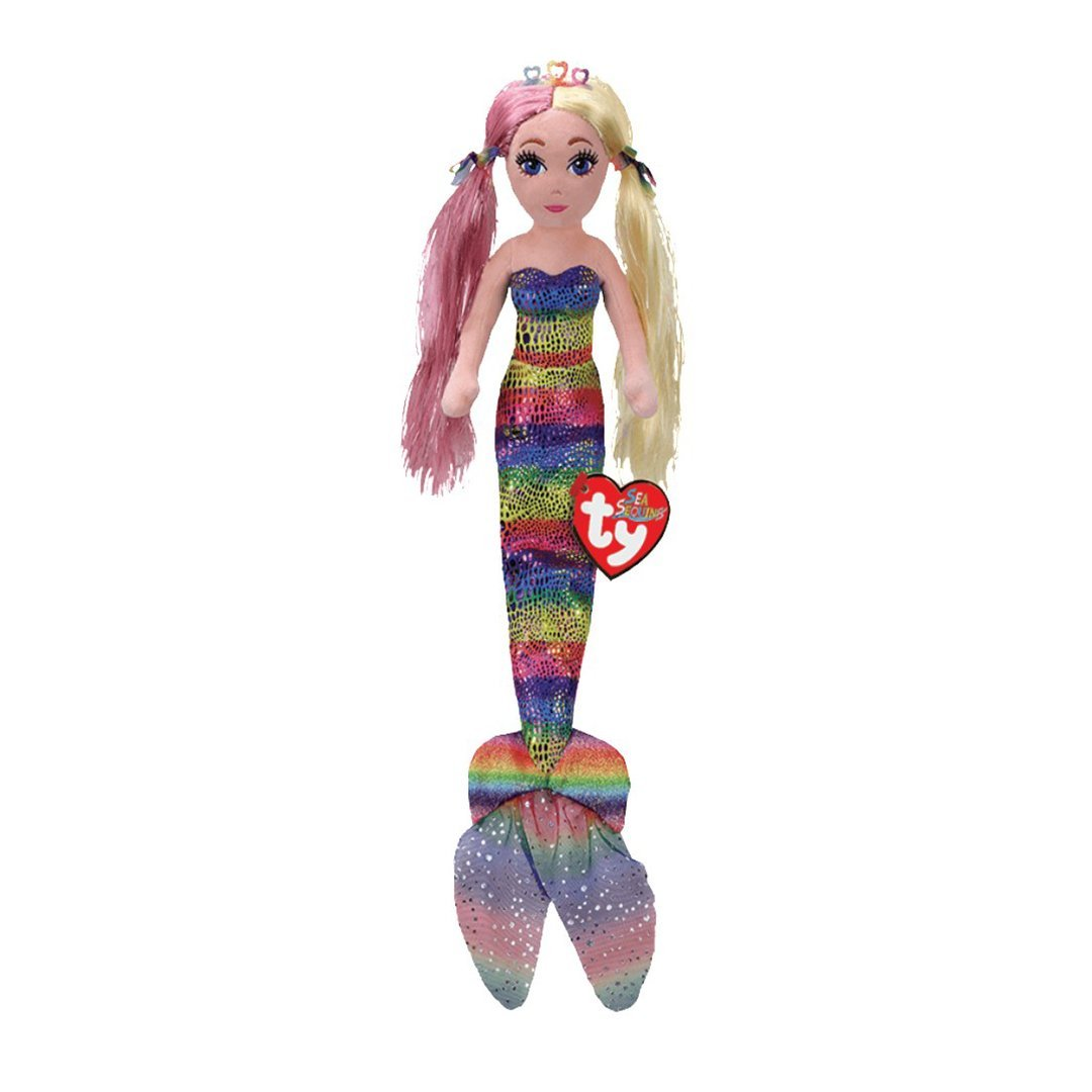 Ty Mermaids Medium - ANASTASIA - Rainbow Foil Mermaid
