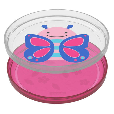 2pc Plate - Butterfly
