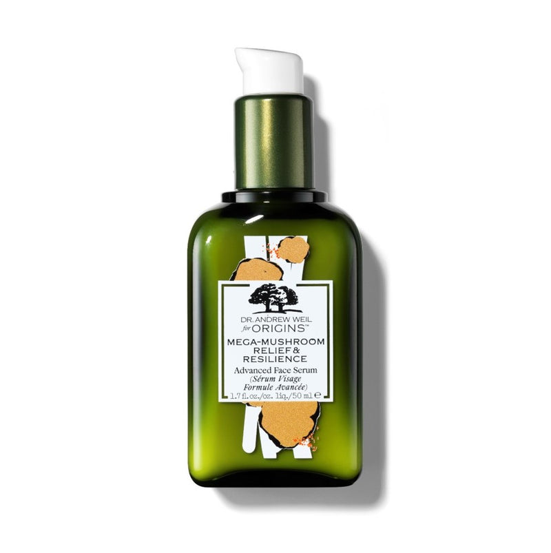 Limited Edition Dr. Andrew Weil for Origins™ Mega-Mushroom Relief & Resilience Advanced Face Serum, 50ml