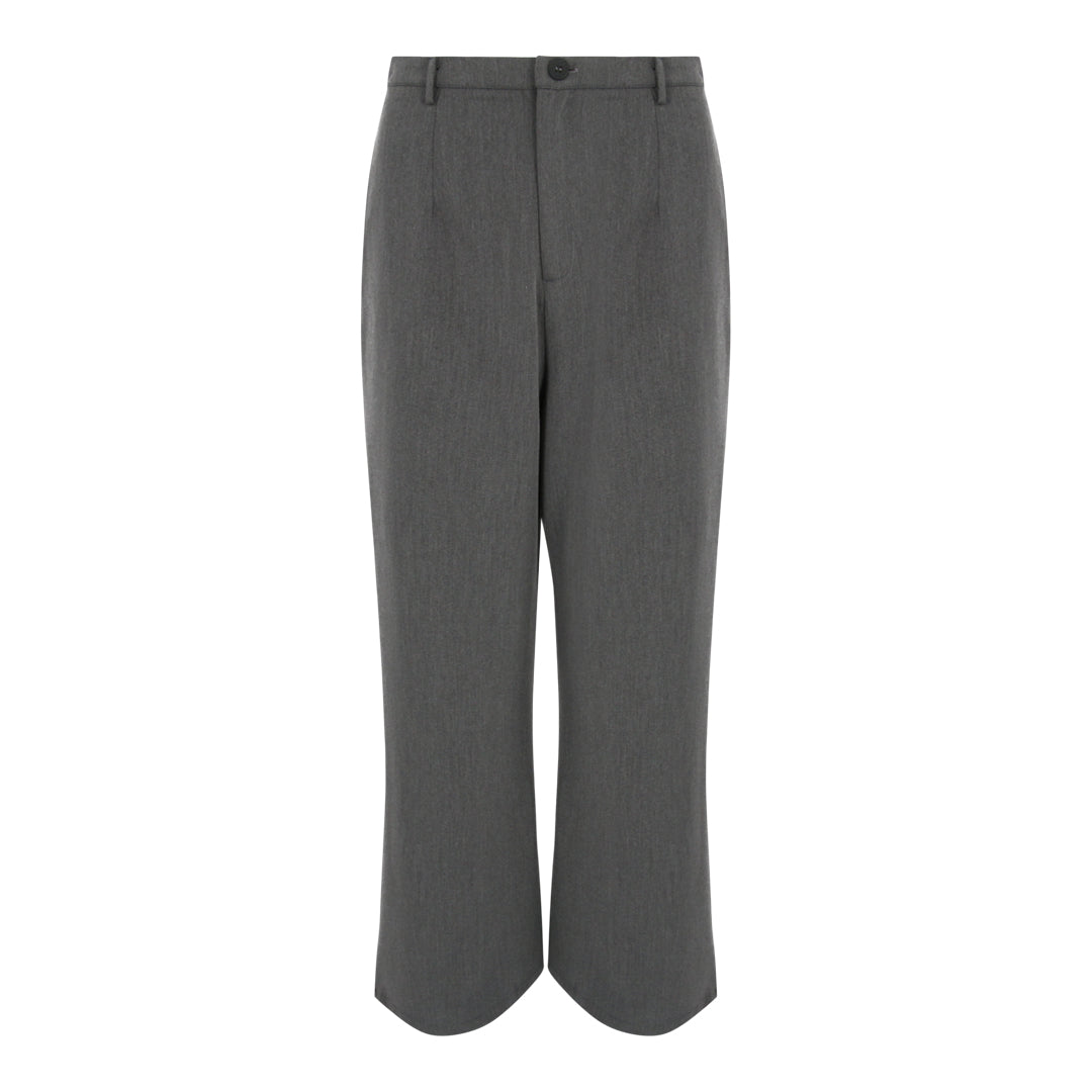 High Waist Flare Pants (Grey)