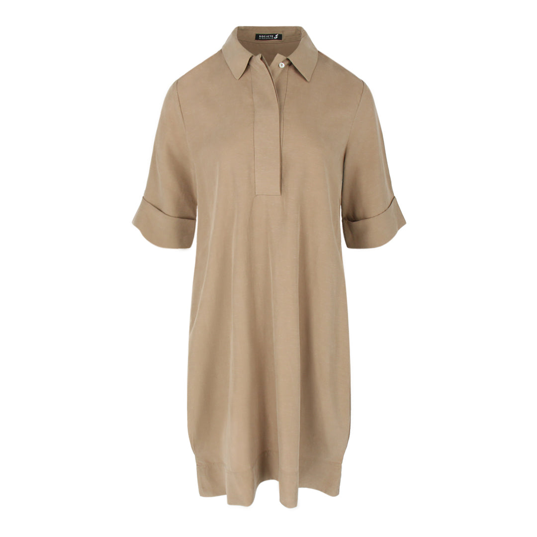 Short Sleeve Tunic in Olive