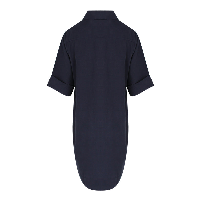 Short Sleeve Tunic in Navy