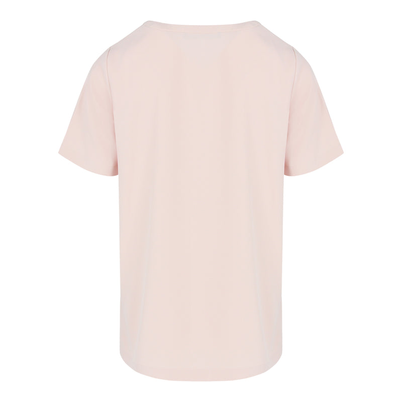 Short Sleeve Top in Light Pink