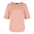 Round Neck Mid Sleeve Top in Dusty Pink