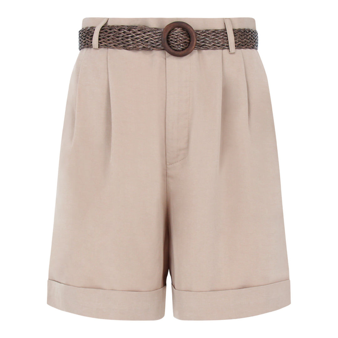 Shorts in Beige