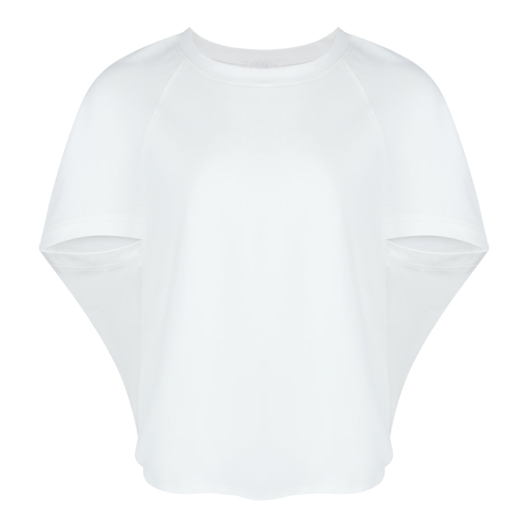 Cocoon Top in White