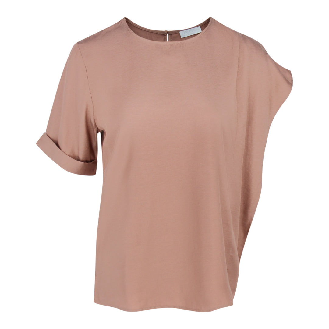 Irregular Sleeve Top in Khaki