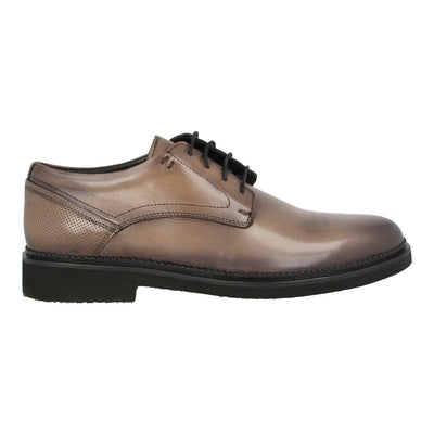 Leather Oxford Shoes (Tobacco)