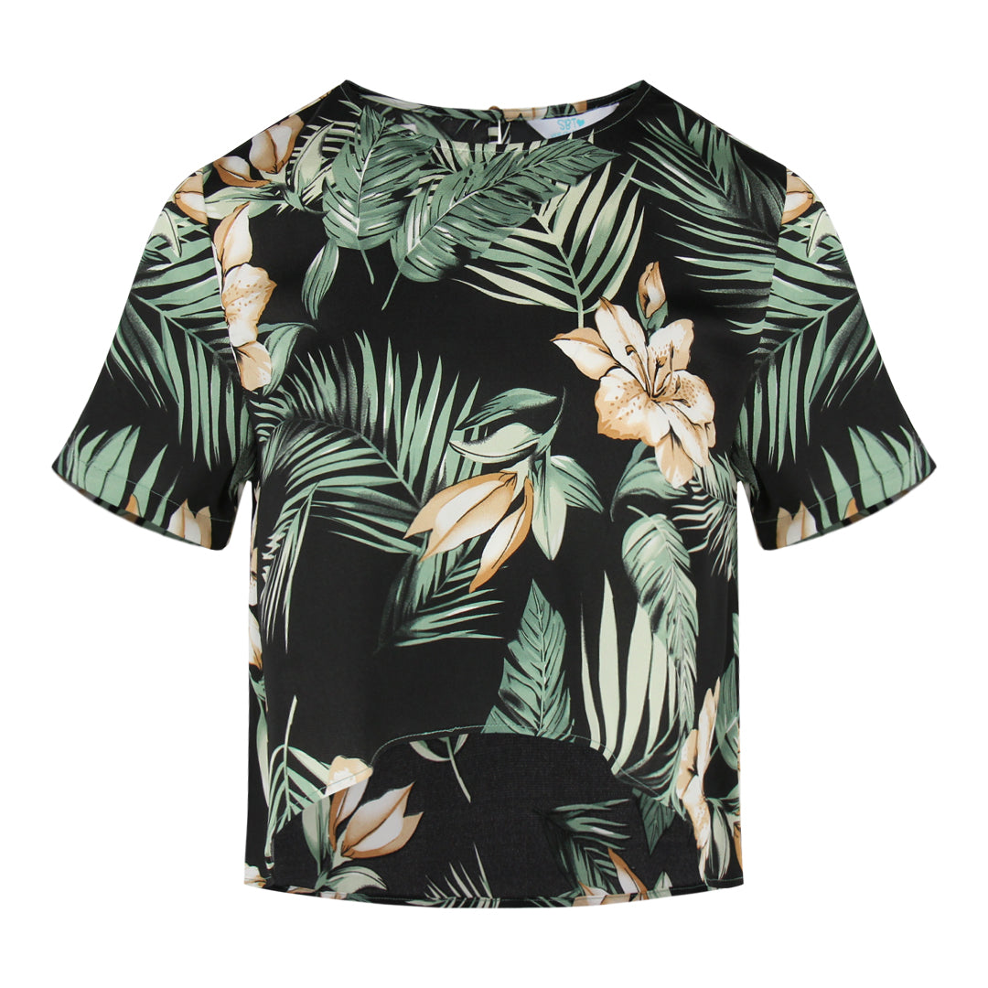 Tropical High Low Top (Black)