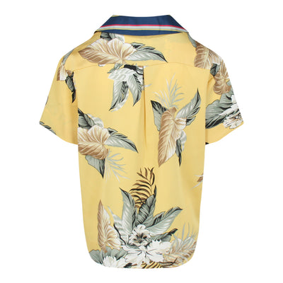 Tropical Print Shirt (Yellow)