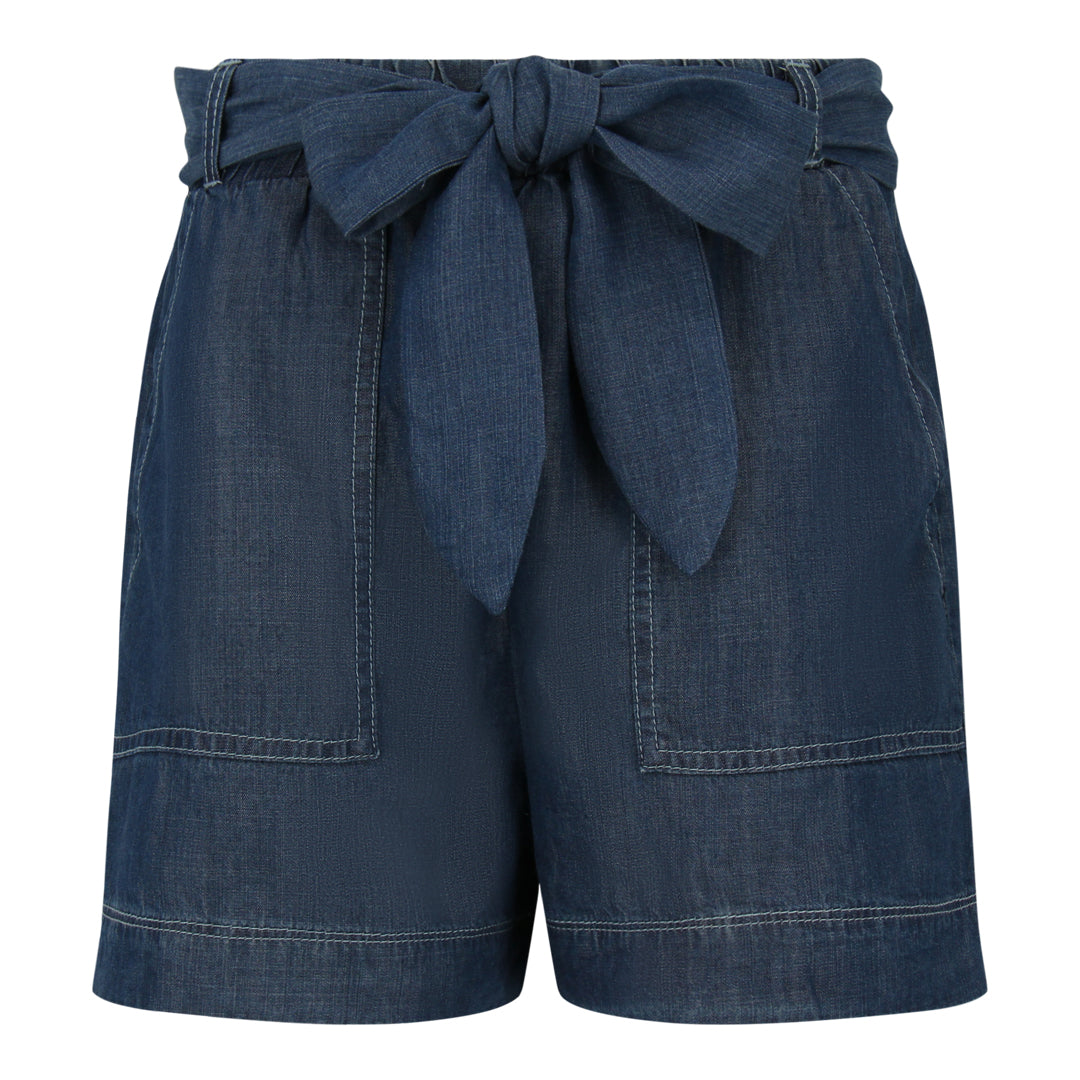 Chambray Shorts (Dark Denim)