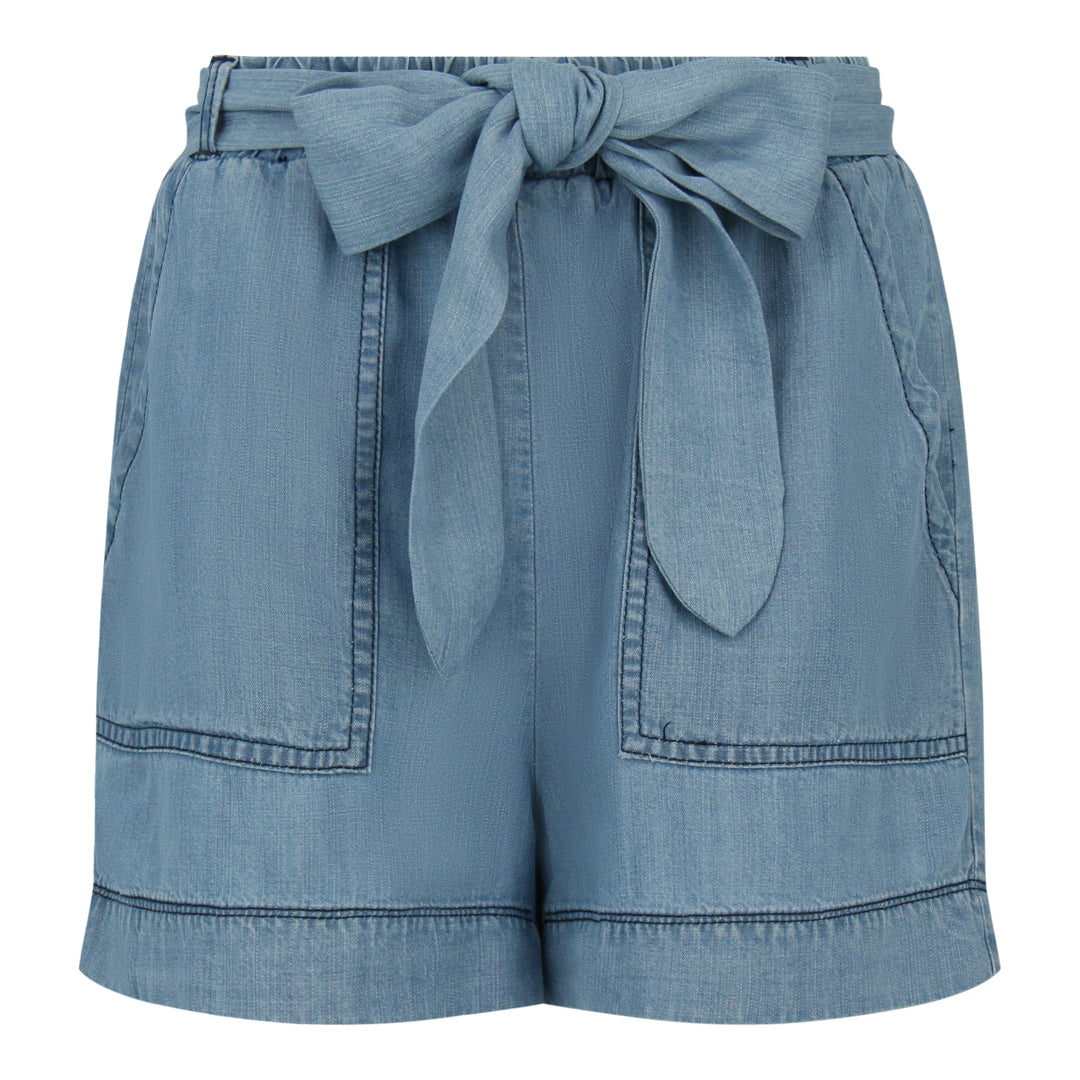 Chambray Shorts (Light Denim)