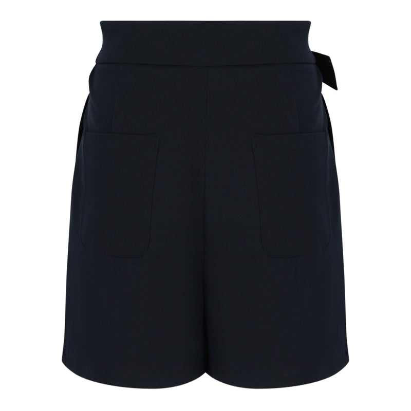 Shorts With Belt (Navy)
