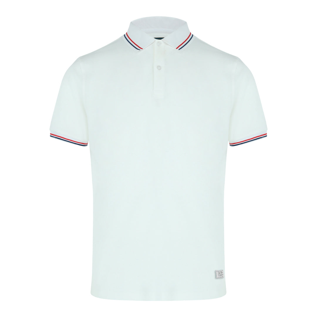 Pique Polo (Off White)