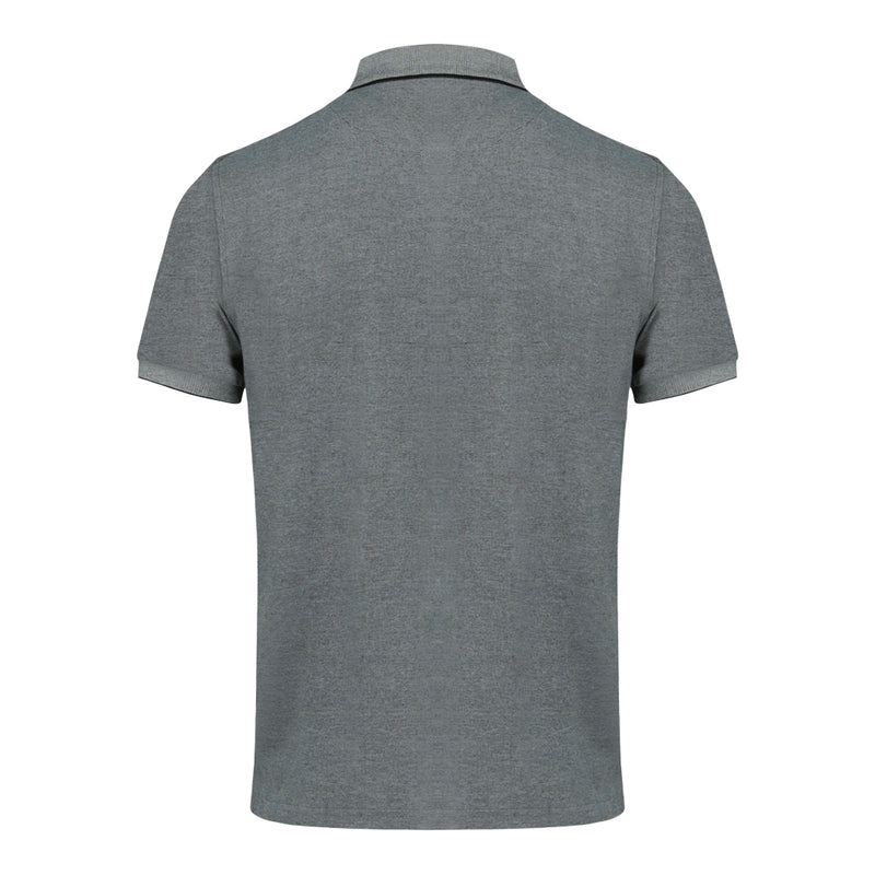 Short Sleeve Polo Shirt in Charcoal