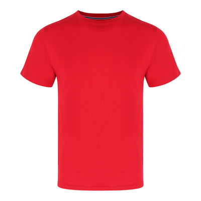 Round Neck Tee in Red