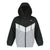 Color Block Jacket With Hood (Black)