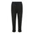 Pull String Long Pants With Piping At Sides (Black)