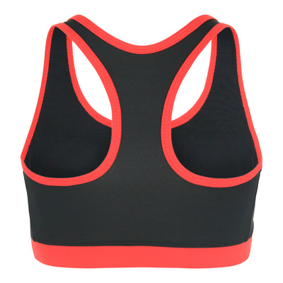 Racer Back Sporty Top (Black / Red)