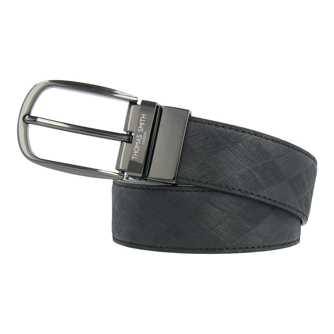 Reversible Leather Belt (Black/Dark Brown)
