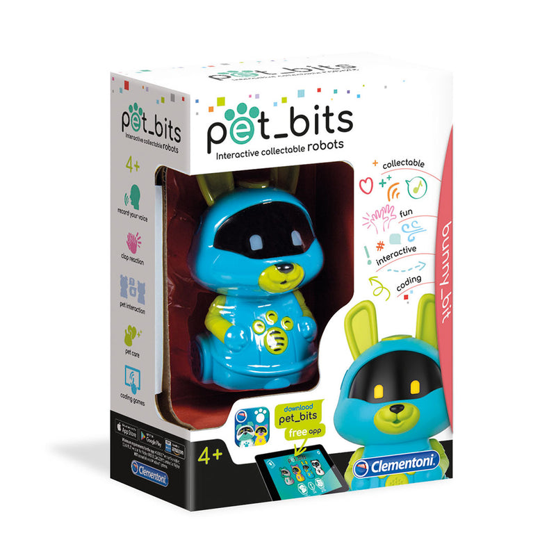 Pet Bits Interactive Collectible Robots - Rabbit