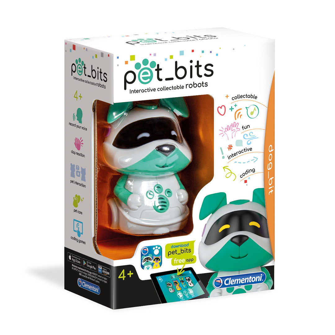 Pet Bits Interactive Collectible Robots - Dog