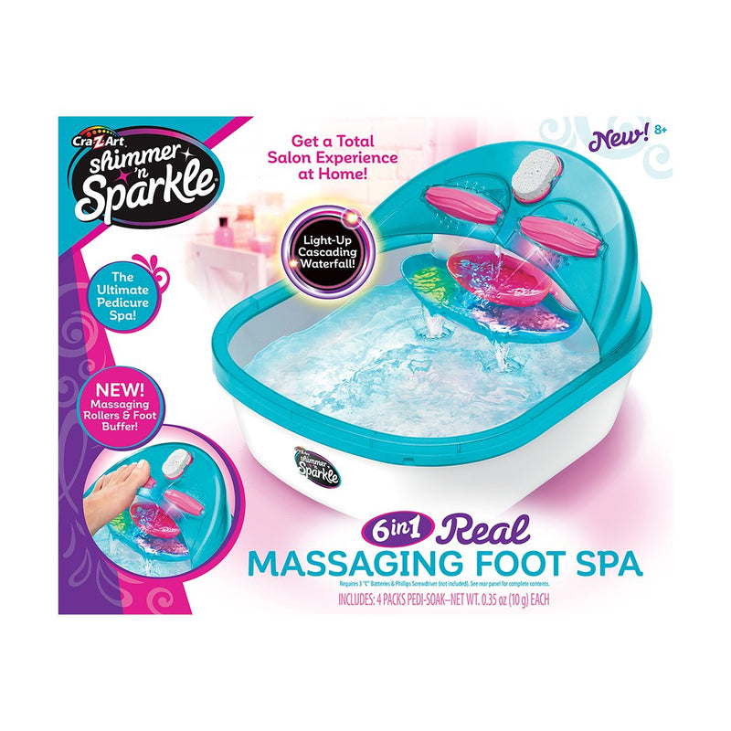 Cra-Z-Art SNS The Real Super Spa Salon with Mini Bath Bombs