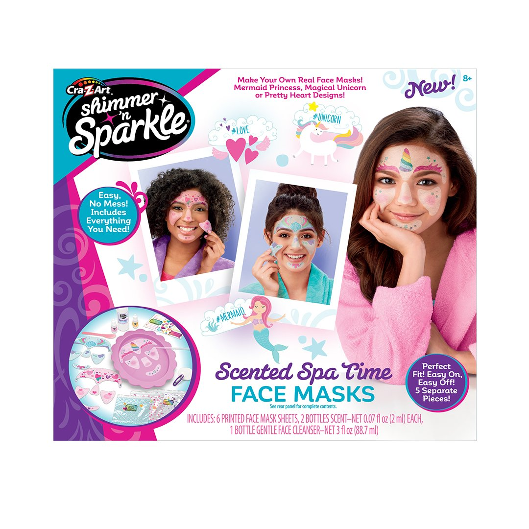 Cra-Z-Art SNS Make Your Own Spa Time Face Mask
