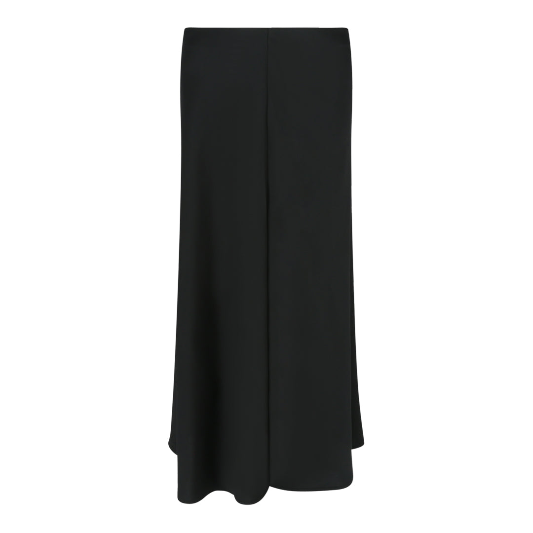 Fit And Flare Skirt in Black