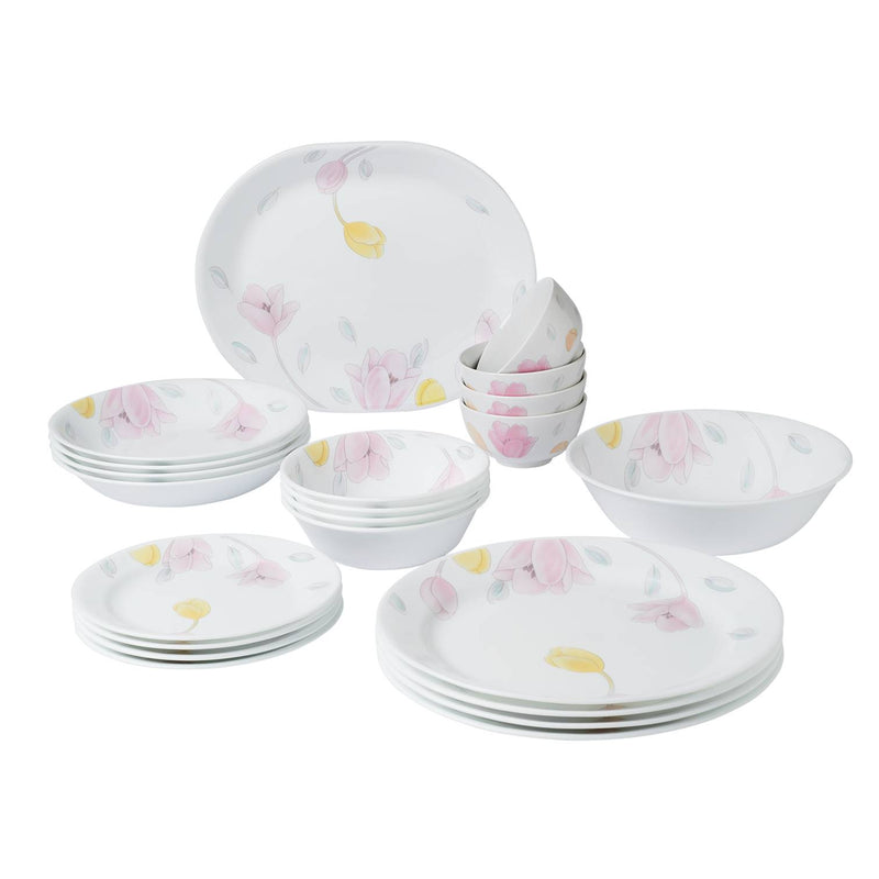 22pc Dinner Set, Elegant City
