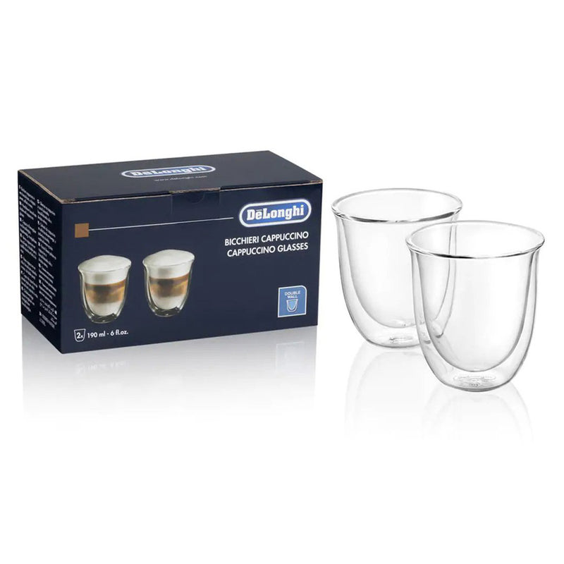 2 Cappuccino Double Wall Glasses DLSC311