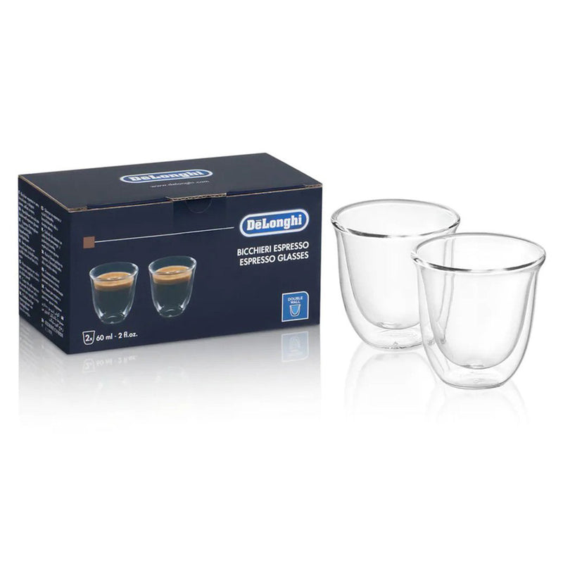 2 Espresso Double Wall Glasses DLSC310