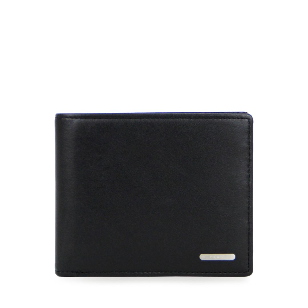 Gordon Wallet with Coin Pouch (Black)